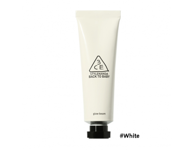 3CE Back To Baby Glow Beam #‎White