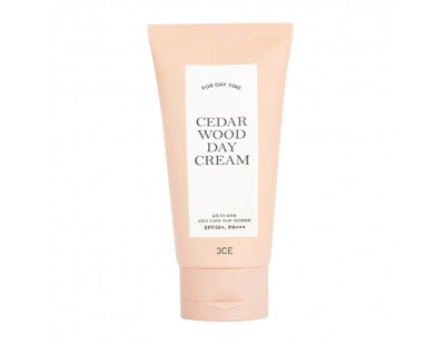 3CE Cedar Wood Moisturizing Day Cream SPF50+ PA+++