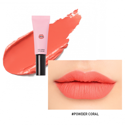 3CE Stylenanda Liquid Lip Color #Powder Coral