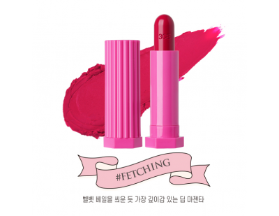 3CE Love Glossy Lip Stick #Fetching