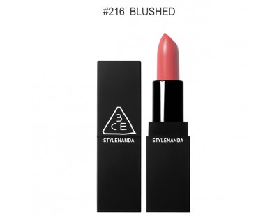 3CE Matte Lip Color #216 Blushed