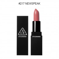 3CE Matte Lip Color #217 NewSpeak