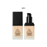 3CE Stylenanda Matte Fit Foundation SPF50+PA+++ #001 ผิวขาว