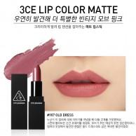 3CE Stylenanda Matte Lip Color #907 Old Dress