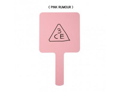 3CE Mini Hand Mirror #Pink Rumour [ กระจกขนาดใหญ่ ]