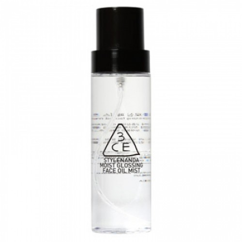 3CE Moist Glossing Face Oil Mist 140 ml.