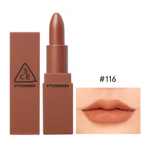3CE Stylenanda Mood Recipe Matte Lip Color #116 inked Heart