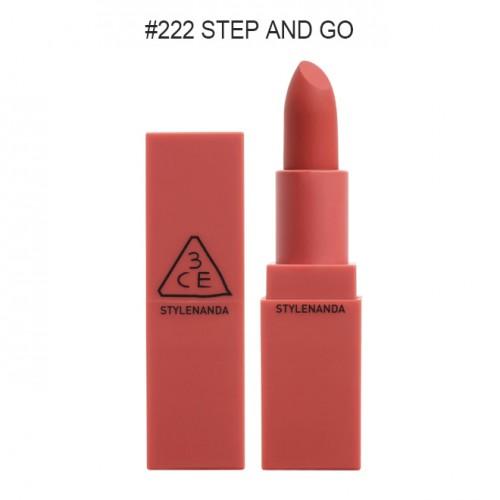 3CE Mood Recipe Matte Lip Color #222 Step And Go