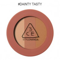 3CE Stylenanda Mood Recipe Triple Shadow #Dainty Tasty