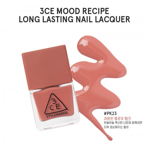 3CE Mood Recipe Long Lasting Nail Lacquer #PK23