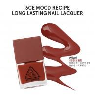 3CE Stylenanda Mood Recipe Long Lasting Nail Lacquer #RD07