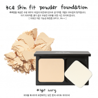 3CE Stylenanda Skin Fit Powder Foundation #ผิวขาว-ขาวเหลือง