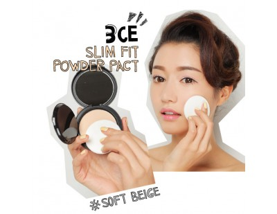 3CE Slim Fit Powder Pact #Soft Beige