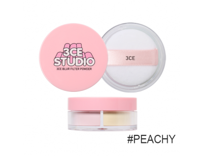 3CE Studio Blur Filter Powder #1 Peachy