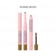 3CE Stylenanda Studio Coloring Brow Pencil & Mascara #1 Caramel Brown