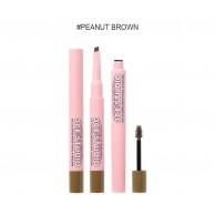 3CE Stylenanda Studio Coloring Brow Pencil & Mascara #2 Peanut Brown