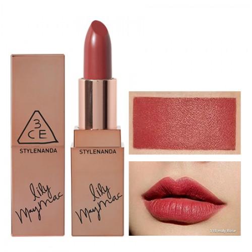 3CE Stylenanda Lily Maymac Matte Lip Color #118 Holy Rose