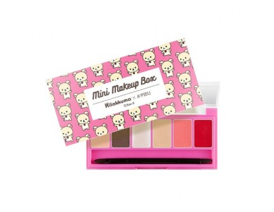 A'PIEU X Rilakkuma Mini Makeup Box #2 Chic And Classic