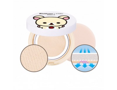 A'PIEU X Rilakkuma Air-Fit Tension Pack SPF30 PA++ #BBOYAN
