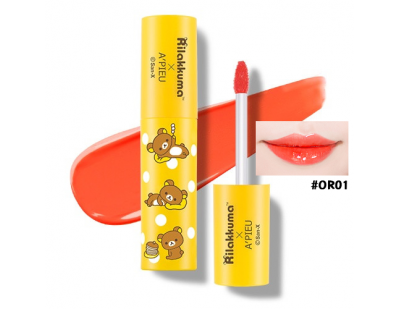 A'PIEU X Rilakkuma Water Light Tint #OR01