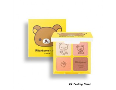 A'PIEU X Rilakkuma For Your Shadow #2 Feeling Of Coral
