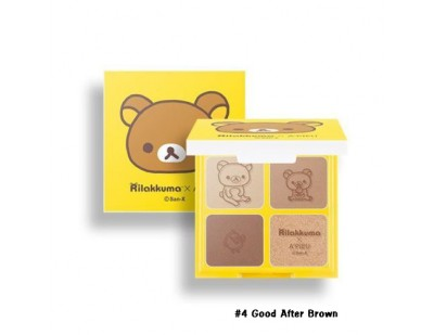 A'PIEU X Rilakkuma For Your Shadow #4 Good After-Brown