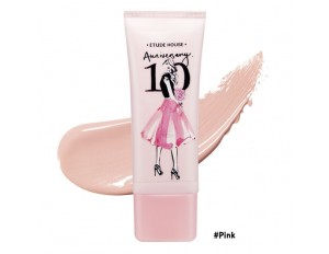 Etude House 10 Anniversary Precious Mineral BB Cream Cover & Bright Fit SPF30 PA++ #สีชมพู