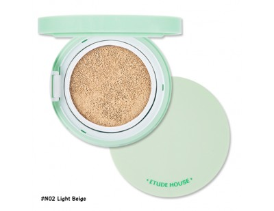 Etude House AC Cleanup Mild BB Cushion SPF50+ PA+++ #N02 ผิวขาว