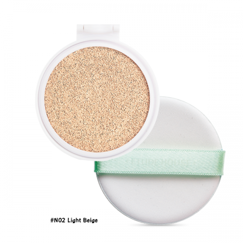 Etude House AC Cleanup Mild BB Cushion SPF50+ PA+++ (Refill) #N02 ผิวขาว