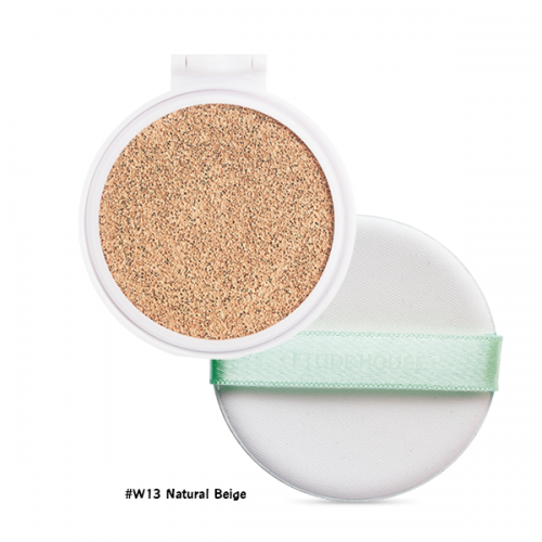Etude House AC Cleanup Mild BB Cushion SPF50+ PA+++ (Refill) #W13 ผิวขาวเหลือง-สองสี