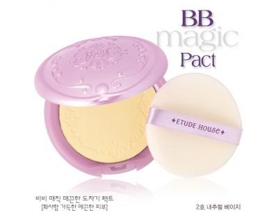 Etude House BB Magic Pact #2 ผิวขาวเหลือง-ผิวสองสี