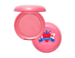 Etude House Berry Delicious Cream Blusher #2 Full Of Cream