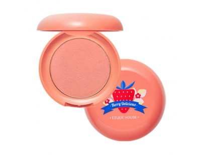 Etude House Berry Delicious Cream Blusher #3 Grapefruit Strawberry