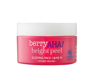 Etude House Berry AHA Bright Peel Sleeping Pack