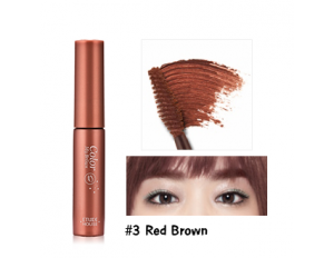 Etude House Color My Brows #3 น้ำตาลแดง