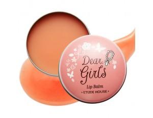 Etude House Dear Girls Lip Balm #2 บำรุงผิวปากให้นุ่มและอมชมพู