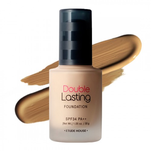 Etude House Double Lasting Foundation SPF34 PA++ #‎Amber