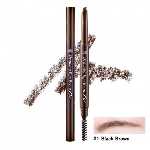 Etude House Drawing Eye Brow New #1 น้ำตาลเข้ม
