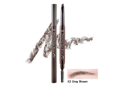 Etude House Drawing Eye Brow New #2 น้ำตาลอ่อน