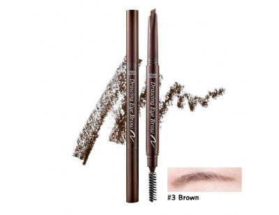 Etude House Drawing Eye Brow New #3 น้ำตาล