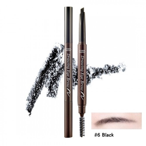 Etude House Drawing Eye Brow New #6 ดำ