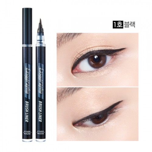 Etude House Drawing Show Easygraphy Brush Liner #1 ดำ