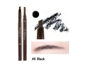 Etude House Drawing Eye Brow #6 สีดำ