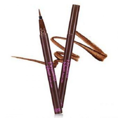 Etude House Drawing Show Brush Liner #BR401 น้ำตาล