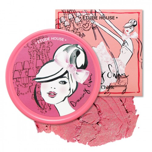 Etude House Dreaming Swan Eye & Cheek #5 Angoh Pink