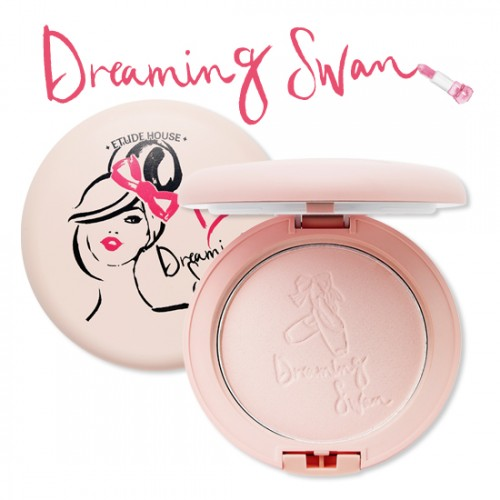 Etude House Dreaming Swan Veiling Pact SPF25 PA++