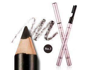 Etude House Easy Brow Pencil #3 ดำ