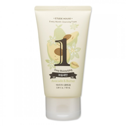 Etude House Every Month Cleansing Foam #1 Avocado & Butter