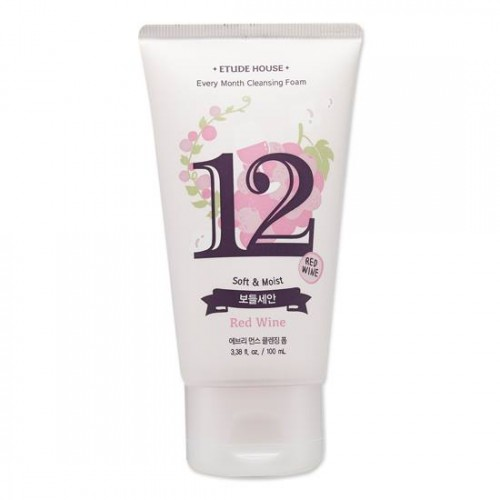 Etude House Every Month Cleansing Foam #12 Red Wine