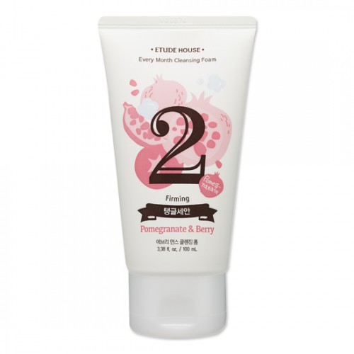 Etude House Every Month Cleansing Foam #2 Pomegrante & Berry